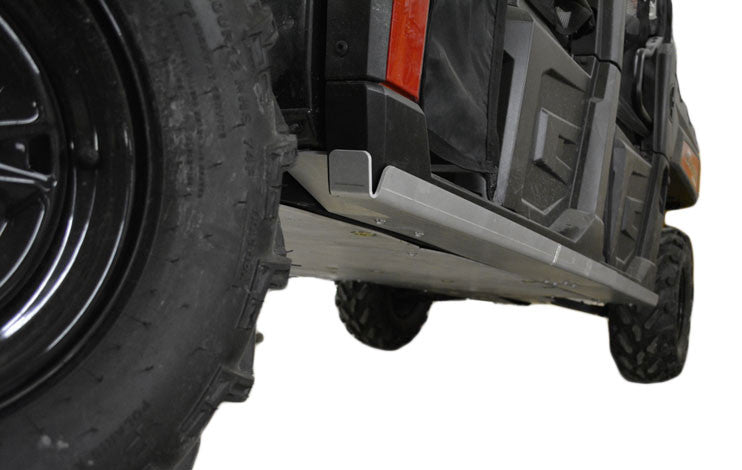 4-Piece Aluminum Rock Slider Set, Polaris Ranger Crew 900-6