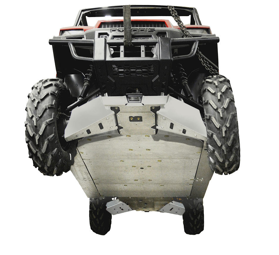 13-Piece Complete Aluminum or with UHMW Skid Plate Set, Polaris Ranger Crew XP 900