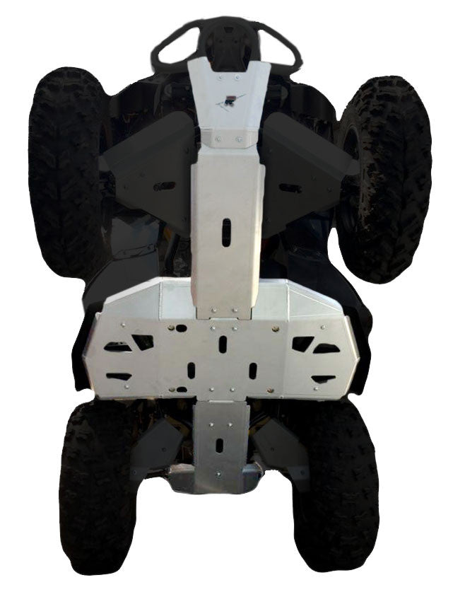 4-Piece Full Frame Skid Plate Set, Can-Am Renegade 1000 X-XC