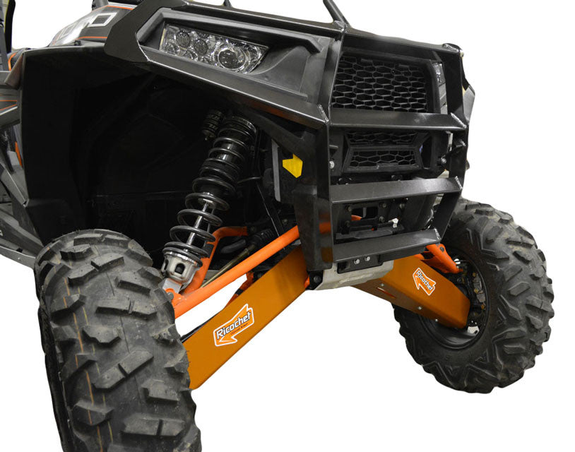 10-Piece Complete Aluminum or UHMW Skid Plate set, RZR XP 1000 Desert Edition