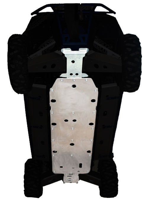 4-Piece Full Frame Skid Plate Set, Polaris RZR-4 800