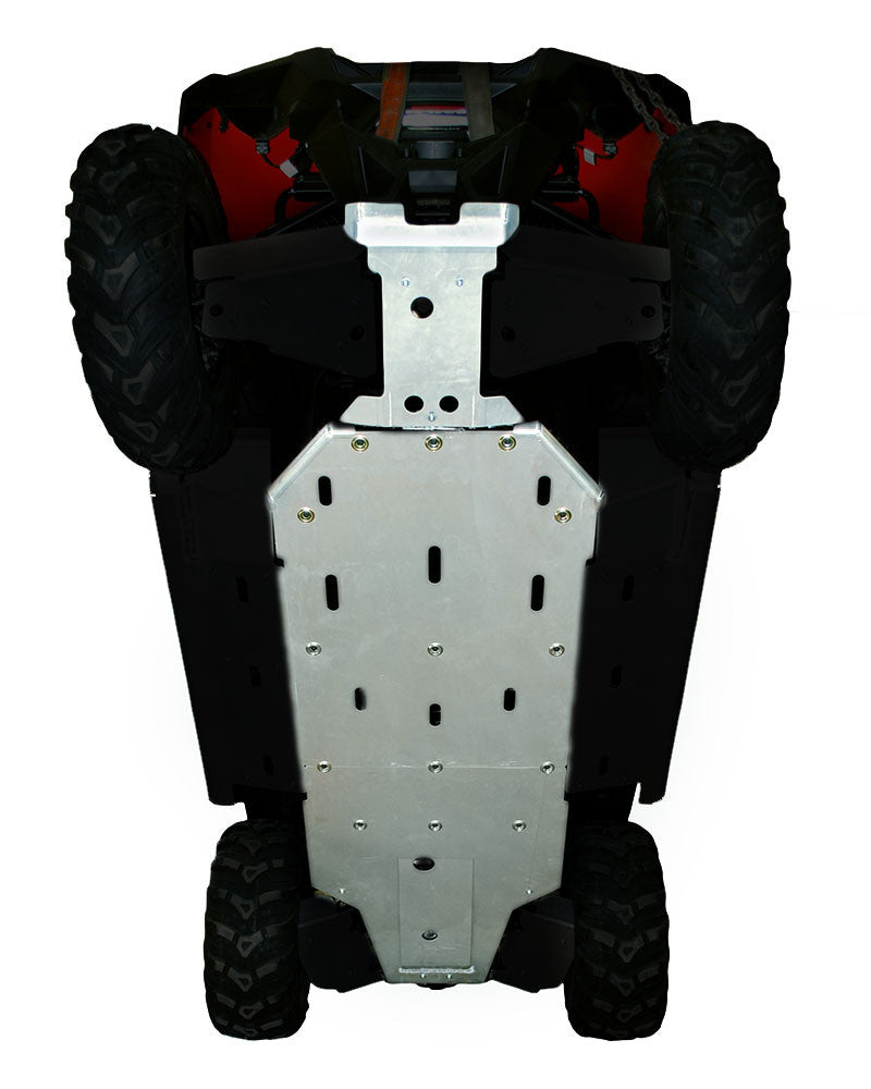 3-Piece Full Frame Skid Plate Set, Polaris RZR 800
