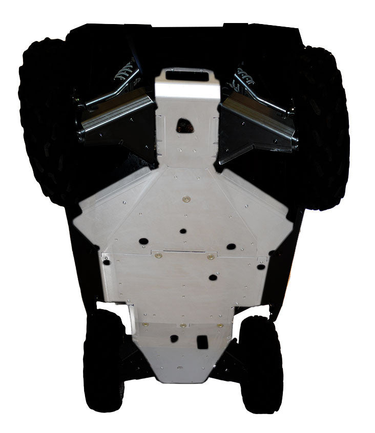 4-Piece Full Frame Skid Plate Set, Polaris RZR-S 1000