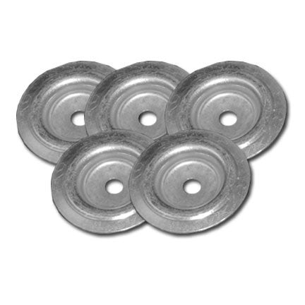 Steel cupped washers