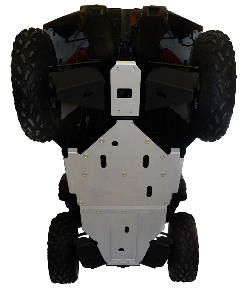 3-Piece Full Frame Skid Plate Set, Polaris ACE 900 XC
