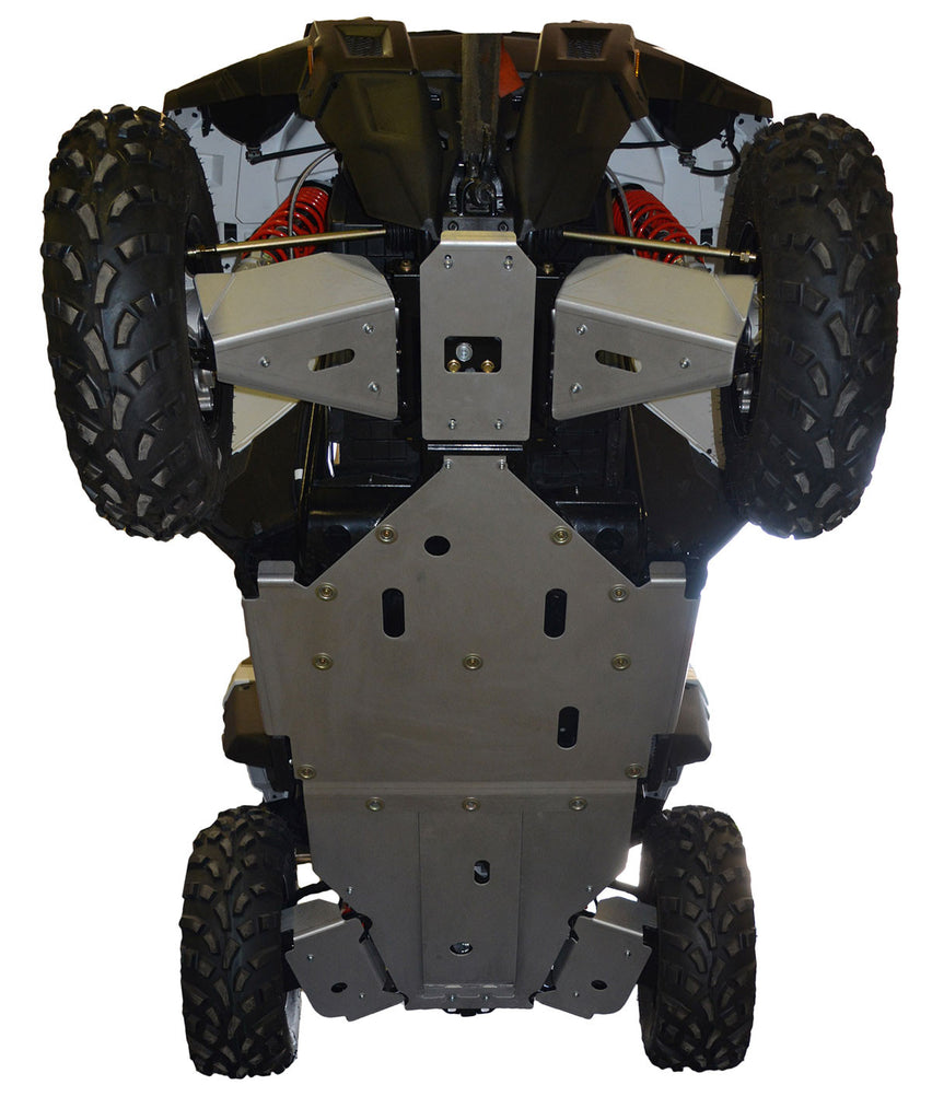 7-Piece Complete Aluminum Skid Plate Set, Polaris ACE 900 XC