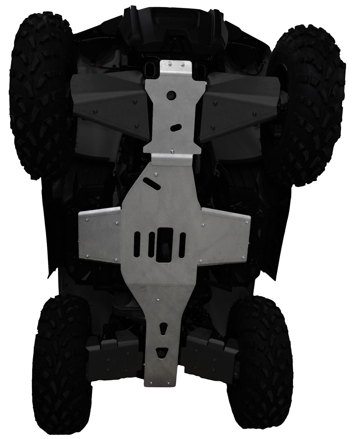 2-Piece Full Frame Skid Plate Set, Polaris Sportsman 570