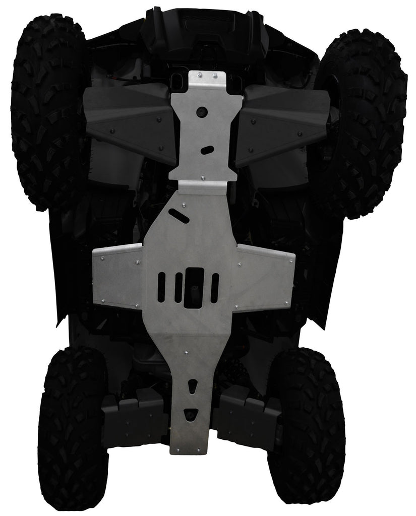 3-Piece Full Frame Skid Plate Set, Polaris Sportsman 570 Touring SP