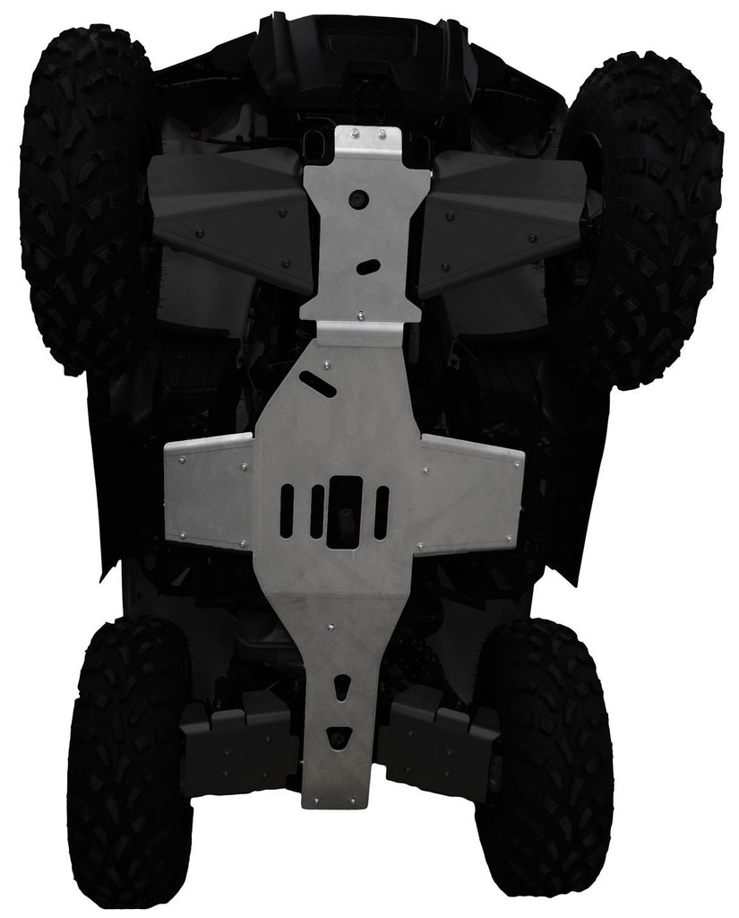 2-Piece Full Frame Skid Plate Set, Polaris Sportsman 450 and 450 H.O