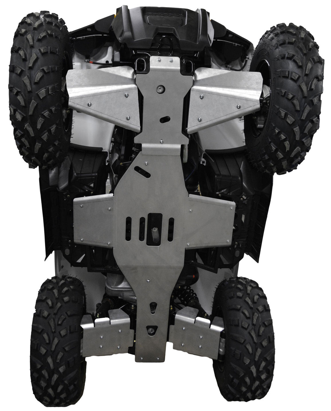 6-Piece Complete Aluminum Skid Plate Set, Polaris Sportsman 570