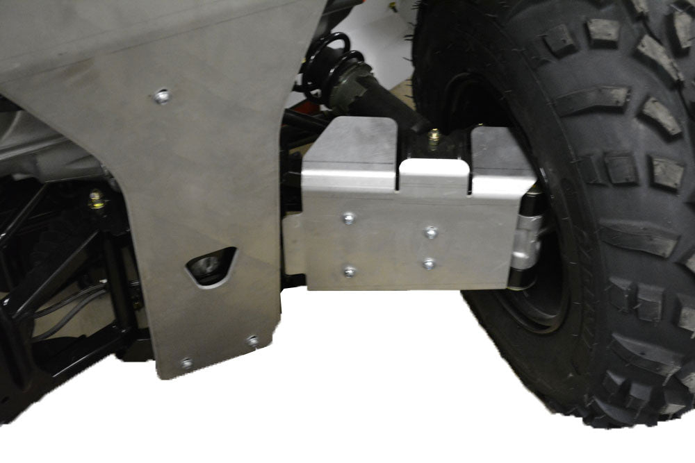 7-Piece Complete Aluminum Skid Plate Set, Polaris Sportsman 500 Touring