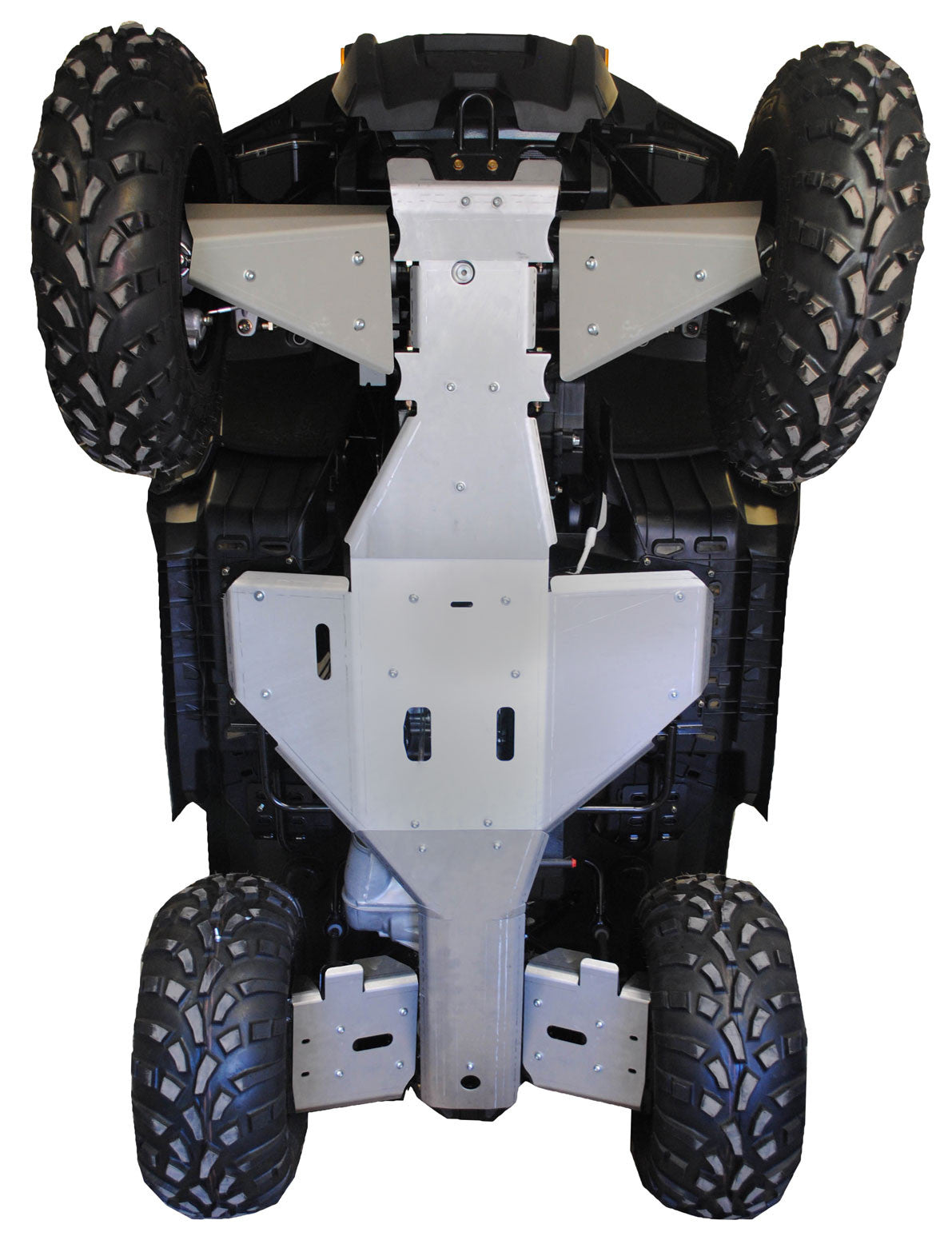 7-Piece Complete Aluminum Skid Plate Set, Polaris Sportsman 500/800 Touring