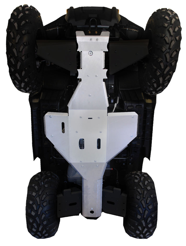 3-Piece Full Frame Skid Plate Set, Polaris Sportsman 500 Touring