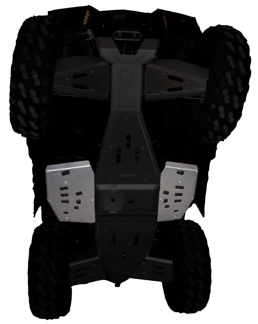 2-Piece Floor Board Skid Plate Set, Polaris Scrambler 1000