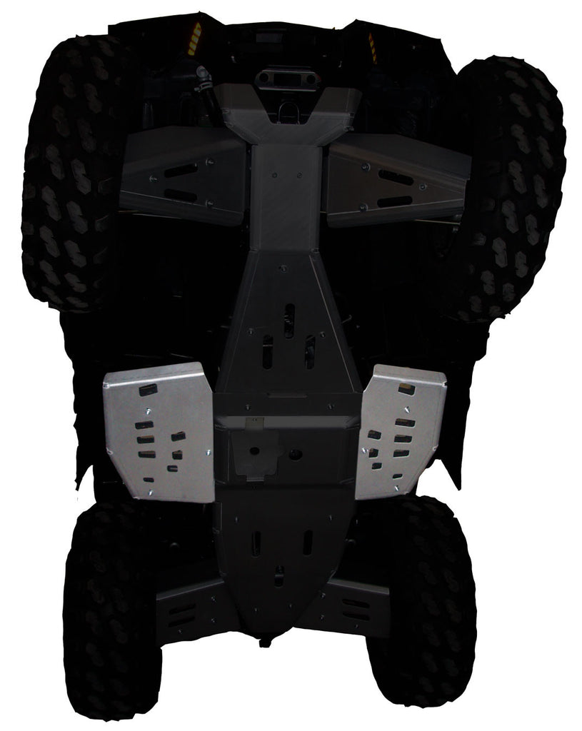 2-Piece Floor Board Skid Plate Set, Sportsman 850