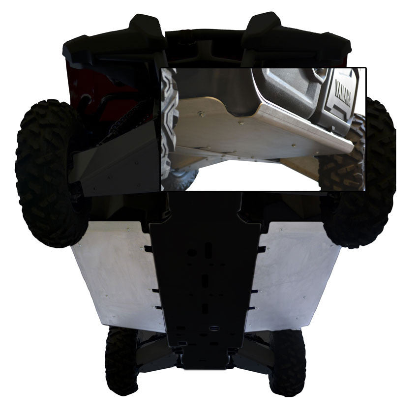 2-Piece Floorboard Skid with Rock Sliders, Yamaha Viking