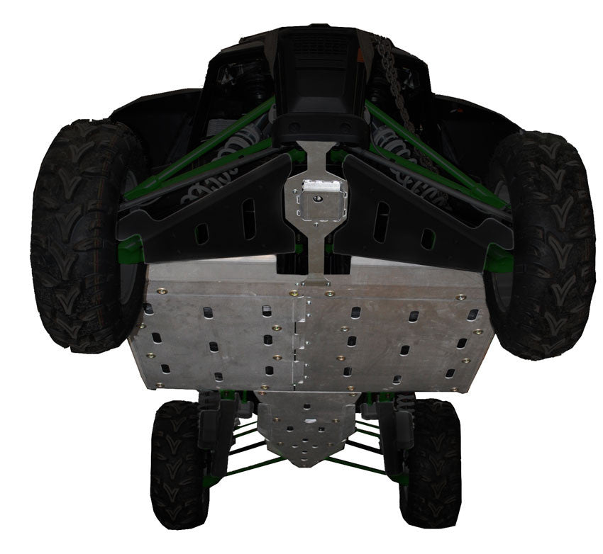 4-Piece Full Frame Aluminum Skid Plate Set, Arctic Cat WildCat