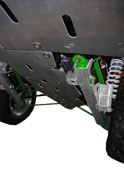 6-Piece Full Frame Aluminum Skid Plate Set, Arctic Cat WildCat 4