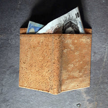 Load image into Gallery viewer, EMC Cork Slimfold Wallet