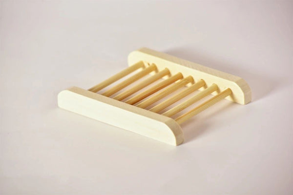 Natural Bamboo Soap Bar Dish. Eco-Friendly