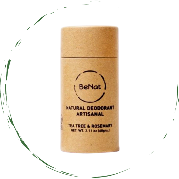 All Natural, Zero-Waste Deodorants