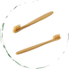 One Bamboo Toothbrush. Soft. Eco-Friendly 1