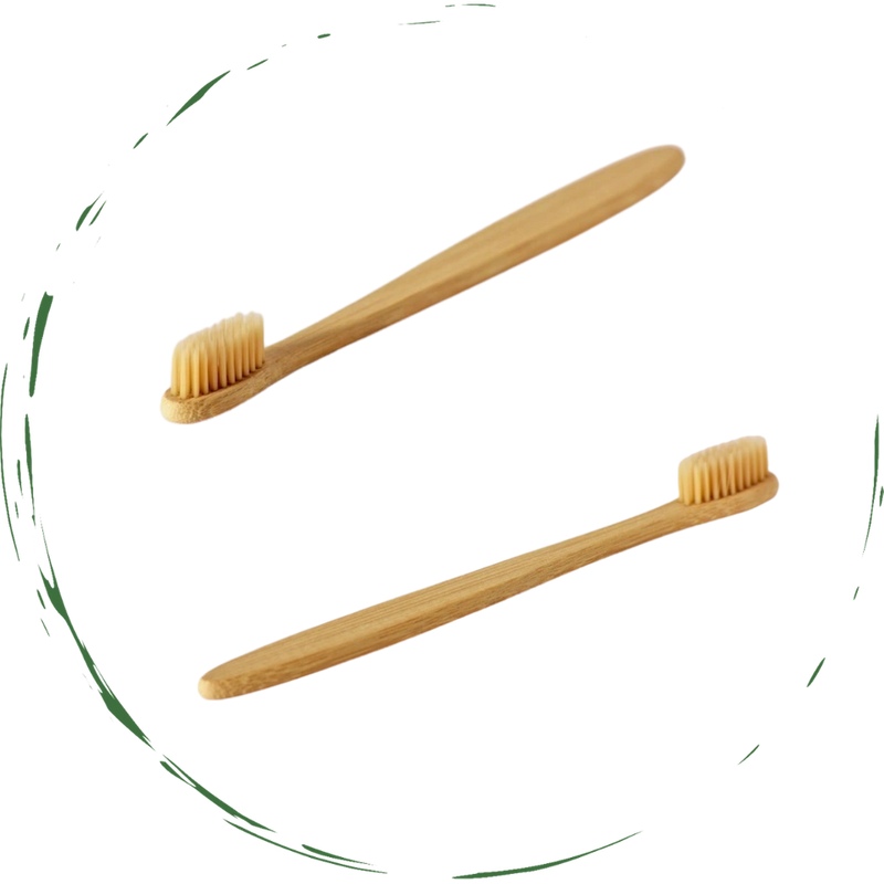 Bamboo Toothbrush. Soft. Eco-Friendly