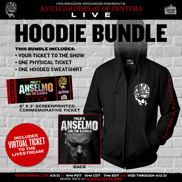 Bundle! Live Stream Ticket  + Concert Hoodie + Commemorative Ticket