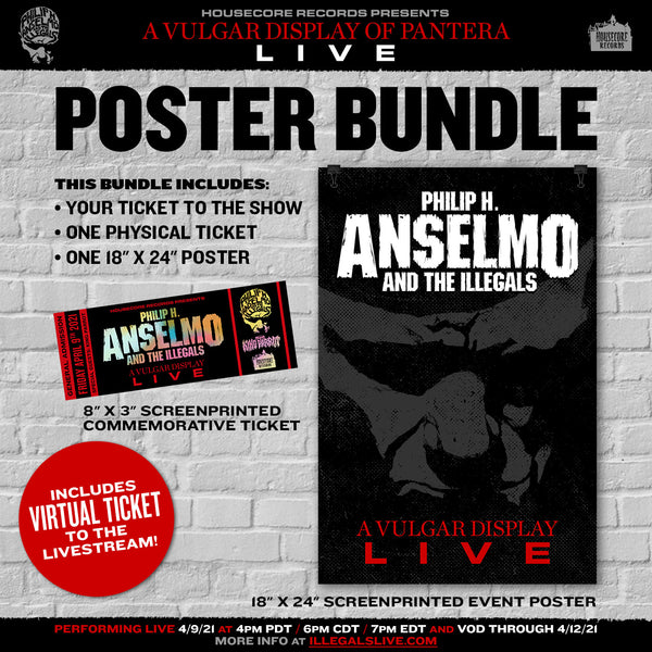 Bundle! Live Stream Ticket  + Concert Poster + Commemorative Ticket