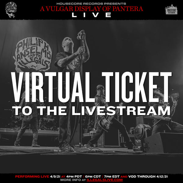 A Vulgar Display: Live Stream Ticket