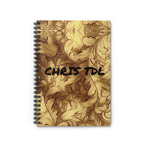 Chris TDL Spiral Notebook - Ruled Line