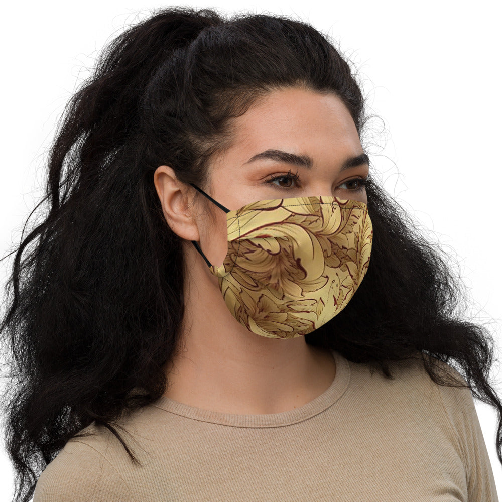 Chris TDL Premium face mask Gold