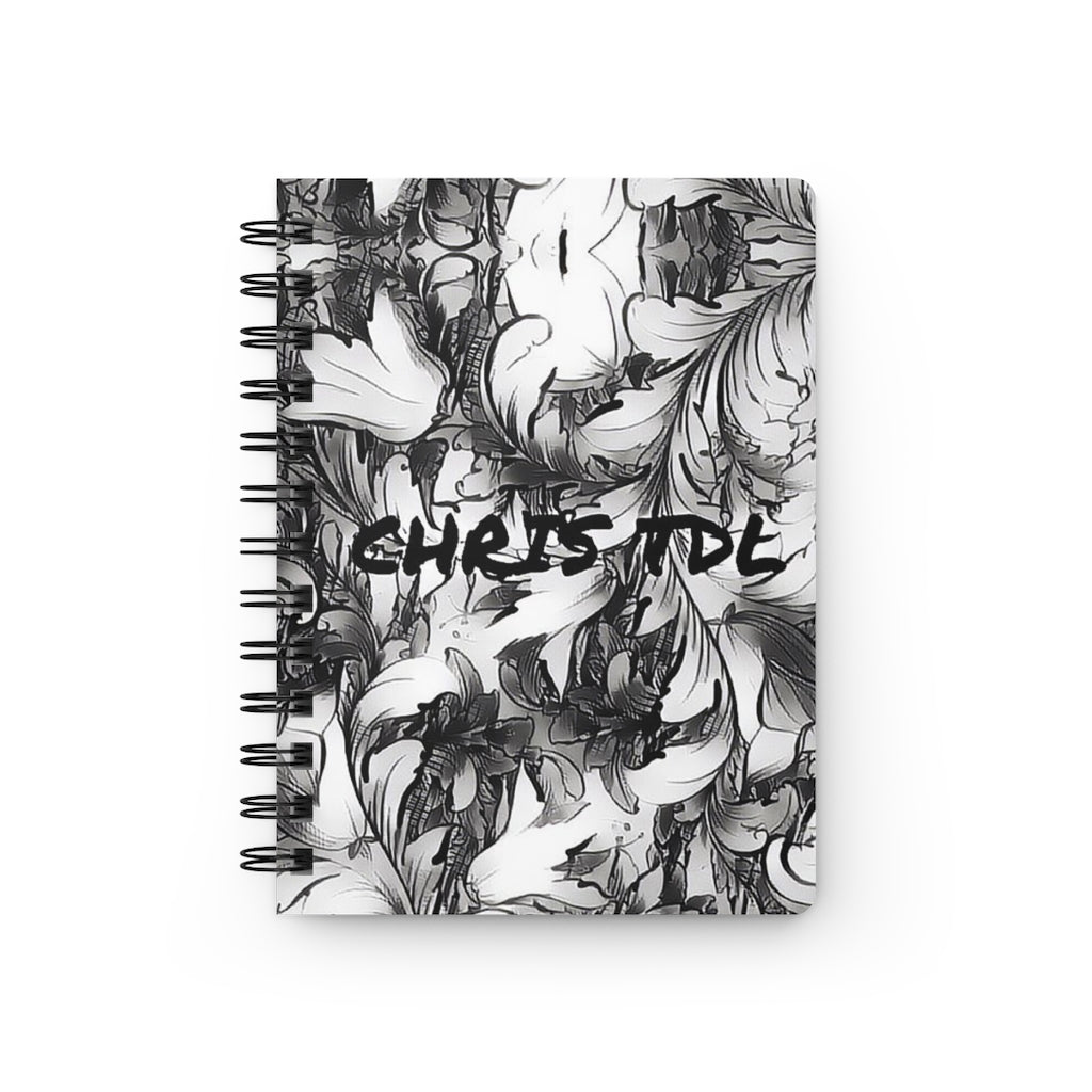 Chris TDL Spiral Bound Journal Grey