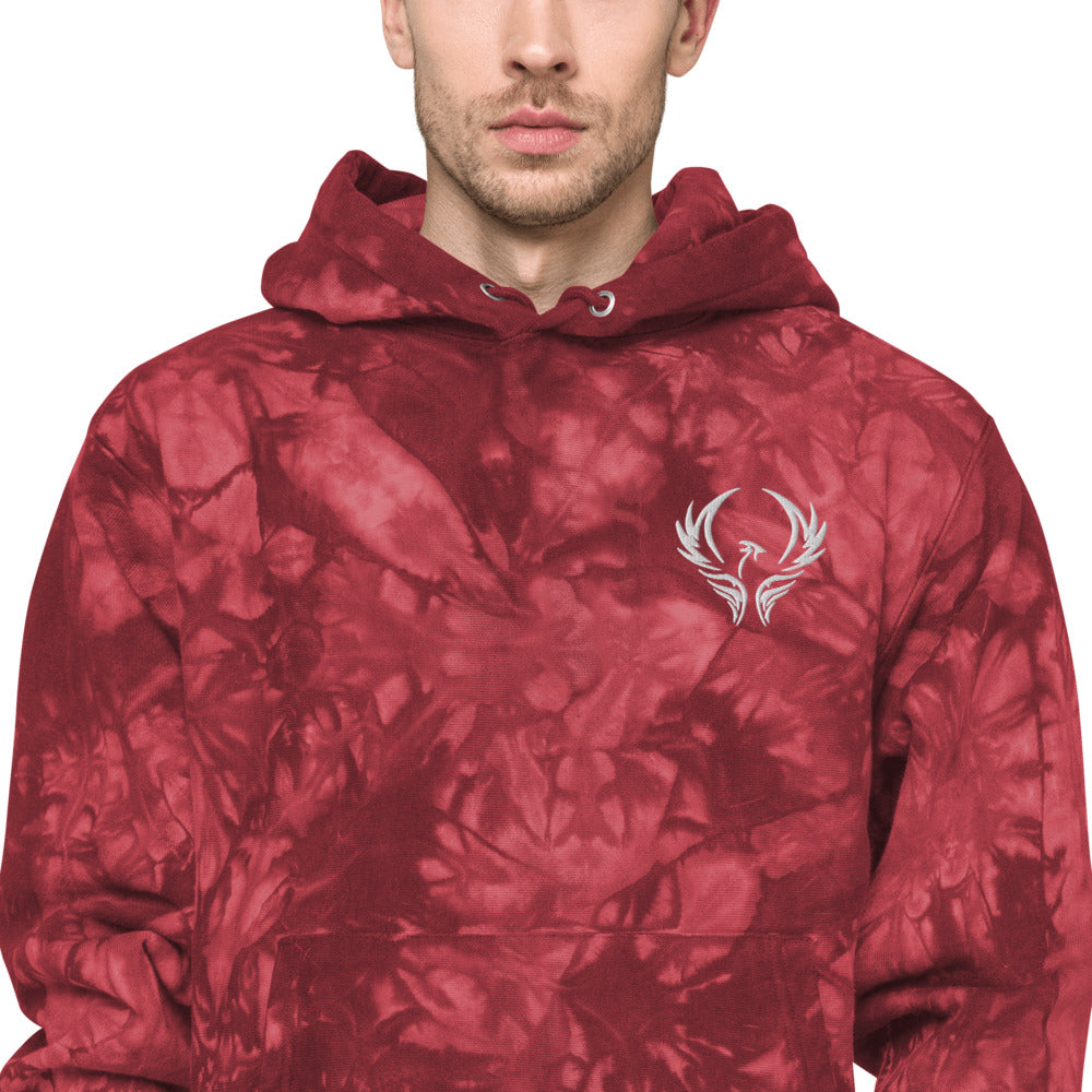 Million Hope by Chris TDL Luxury Unisex Champion tie-dye hoodie