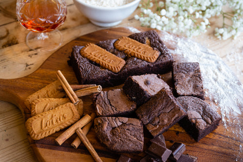 Spiced Biscoff Brownies