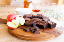 Load image into Gallery viewer, Toffee Apple & Calvados Brownie