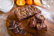 Load image into Gallery viewer, Chocolate Orange and Cointreau Brownie