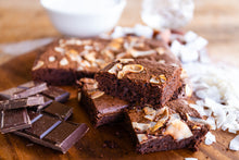 Load image into Gallery viewer, Malibu and Coconut Brownie