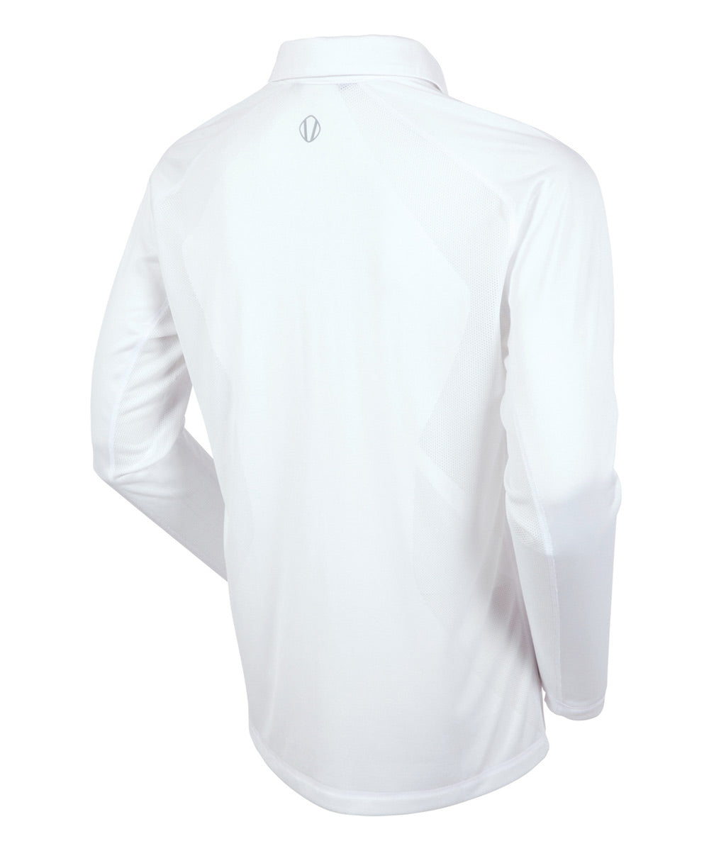 Men's James Body Mapping Coollite Long Sleeve Polo