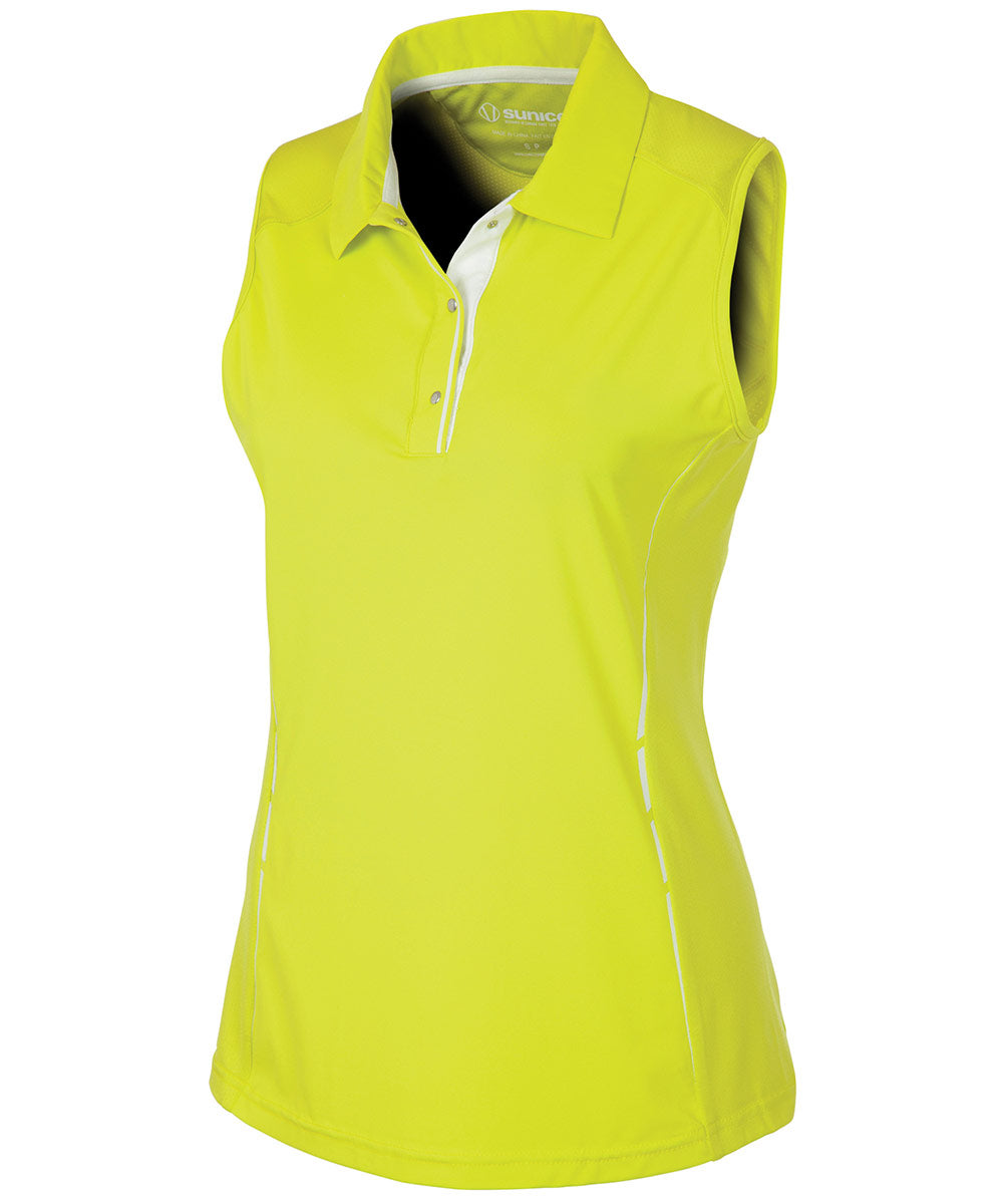 Women's Breanna DreamSkin Coollite Stretch Sleeveless Polo Shirt