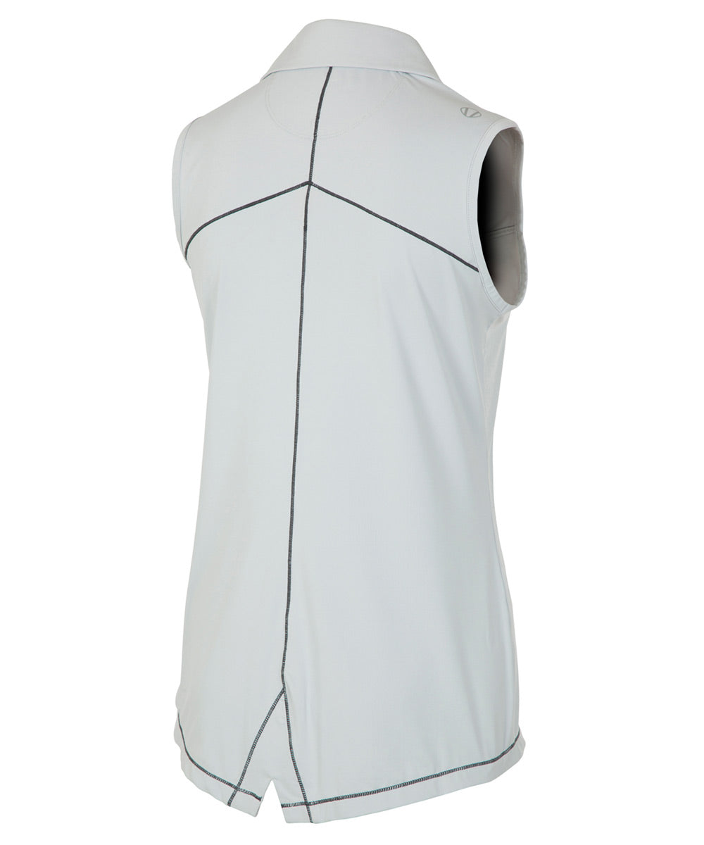 Women's Doreen Coollite DreamSkin Stretch Sleeveless Polo