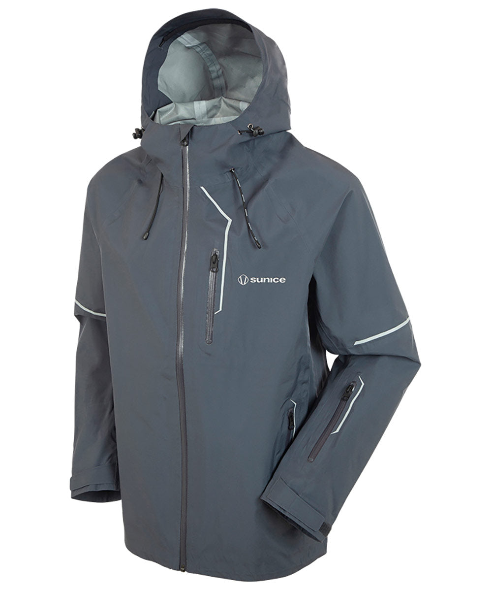 Men's Milo Waterproof Stretch Jacket with Hood