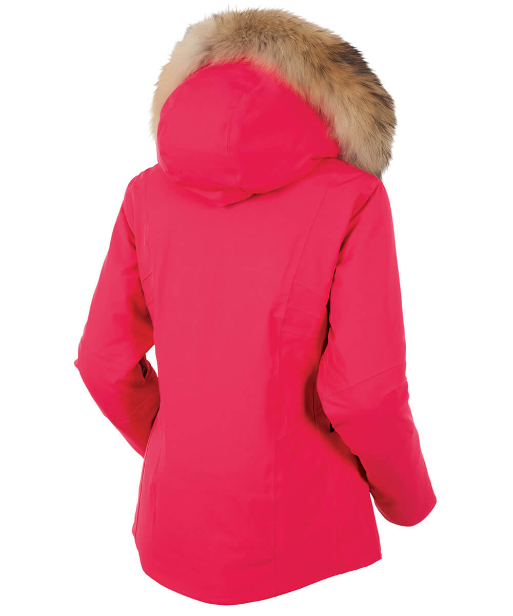 Women's Eliora Deluxe Waterproof Insulated Stretch Jacket With Removable Fur Ruff