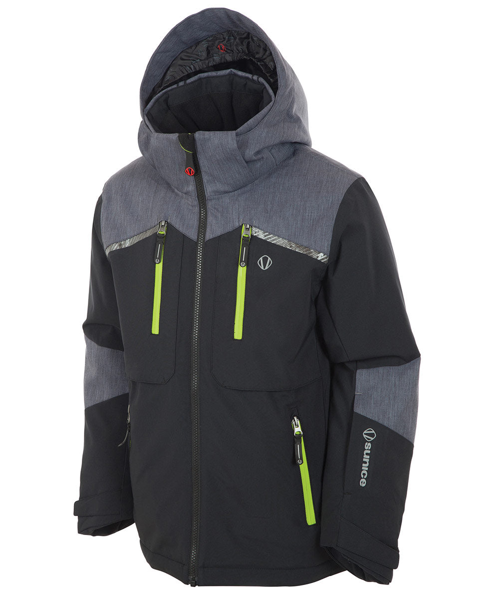 Boys' Oliver Waterproof Insulated Stretch Jacket