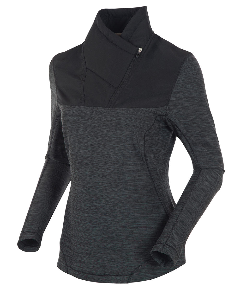 Women's Dakota Thermal Stretch Shawl Collar Pullover