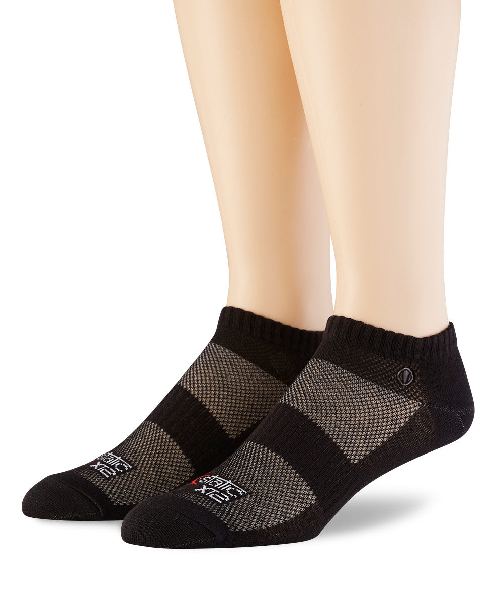 Women's X-Static Black Socks