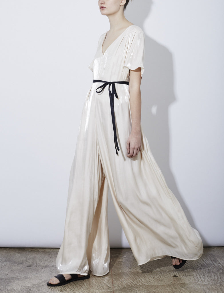 SONJA JUMPSUIT, IVORY *SOLD OUT