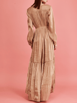 rhie liquid charmeuse silky gown west village boutique