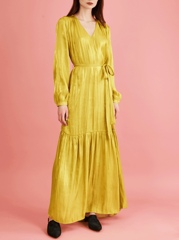 AMANDA DRESS, YELLOW