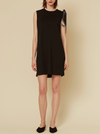 DANNY JERSEY DRESS, BLACK